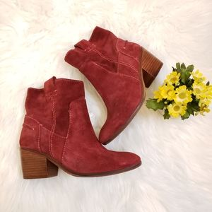 Vince Camuto Hammerton Suede Ankle Boots sz 6
